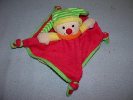 AJ-565  Simba Baby kroeldoekje clown