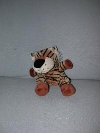 QZ-665  Onbekende handpop tijger - 26 cm