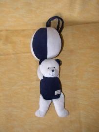 RMK-179  Tiamo muziekdoos beer aan bal
