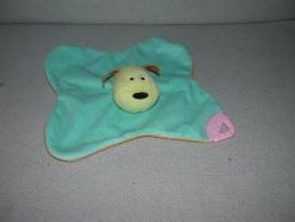 H-672  Prenatal kroeldoekje hond met bijtstuk