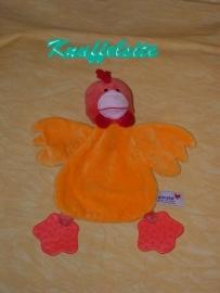 E-308  Prenatal kroeldoekje kip met bijtstukken
