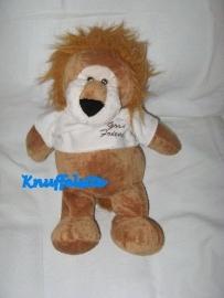 KP-431  Toys leeuw met truitje `Good Friends` - 35 cm
