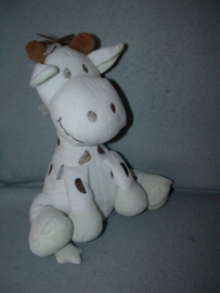 AJ-1351  Tiamo giraffe Gino - 23 cm - witte voeten!