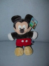 M-484  Gloednieuw! Nicotoy muis Mickey Mouse - 27 cm