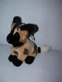 H-1008  Gloednieuw! Mary Meyer/Inspiration Afrikaanse Wilde Hond - 26 cm