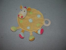 AJ-1123  Fehn kroeldoekje giraffe/koe?