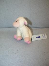 QZ-762  Gloednieuw! Happy Horse schaapje Mini Farm Friends Lamb 2004/2005