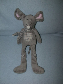 M-600  Onbekende muis met sjaal - Toys? - 31 cm
