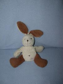K-161  Tiamo twee-kleuren-konijn - 22 cm