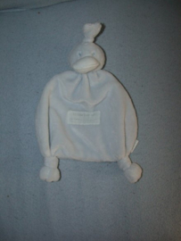 E-439  BamBam kroeldoekje eend - lichtblauw