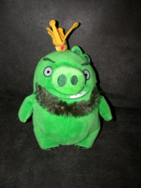 QZ-1079  Angry Birds varken Leonard - 20 cm