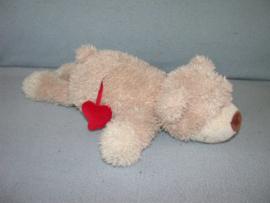 B-1655  Nici beer met hartje - 35 cm