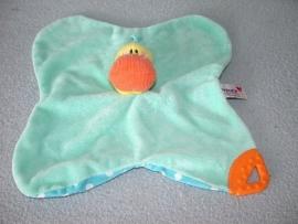 E-299  Prenatal kroeldoekje eend met bijtstuk