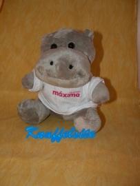 KP-948  Stichting Maxima nijlpaard met truitje - 21 cm