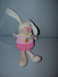 K-675  Gloednieuw! Eddy Toys konijn - 27 cm