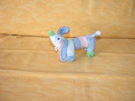 H-533  Happy Horse hondje Mini Blue Dinkey 2008 - 16 cm