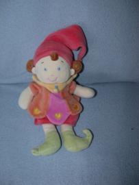 PS-509  Nicotoy kabouterpop meisje - 25 cm