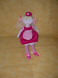 PS-854  Anna Club Plush prinses - 27 cm
