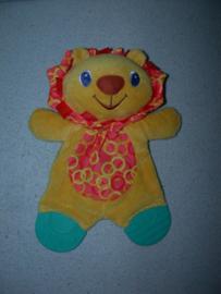 KP-1195  Bright Starts kroeldoekje leeuw met bijtstukken