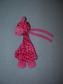 AJ-1320  Hans Textiel/Little Me knisperdoekje giraffe