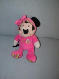 M-609  Nicotoy muis Minnie Mouse in pyjama - 28 cm