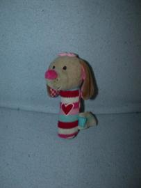 H-1031  Lief! Lifestyle rammelaar/piepbeest hond Daisy