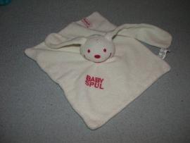 K-608  BabyPlanet kroeldoekje konijn 'Babyspul'