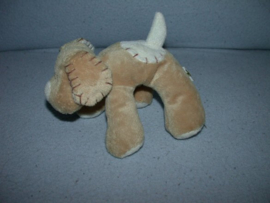H-222  Eddy Toys hondje - 15 cm