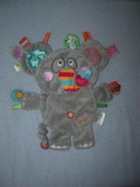 KP-1603  Label Label labeldoekje olifant (Friends-serie)