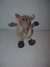 KP-1258  Eddy Toys olifant - 23 cm