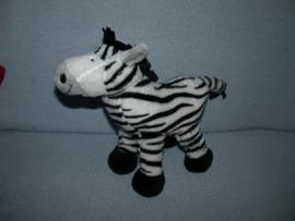QZ-638  Anna Club Plush zebra - 23 x 22 cm