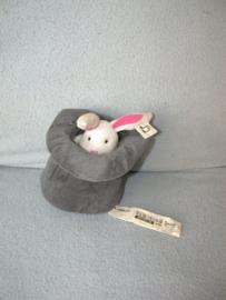 RMK-431  Ikea muziekdoos konijn in hoed Leka Cirkus
