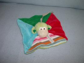 AJ-1178  Happy Horse kroeldoekje aap Monkey Mo tuttle