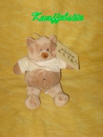 B-813  Gloednieuw! Prenatal beertje Bruno - 20 cm