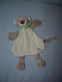 B-1625  Ergee/Kik kroeldoekje beer met bungelbeentjes