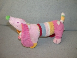 H-763  Happy Horse hond Pink Dinkey nr.1  2008 - 28 cm