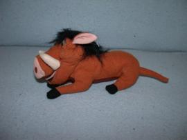 QZ-656  Disney/Merison everzwijn Pumbaa (Lion King) - 17 cm