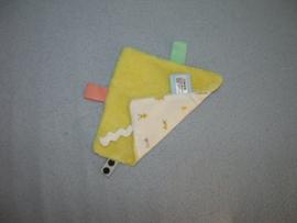 PS-1211  Snoozebaby labeldoekje, langere draadjesstof/tricot