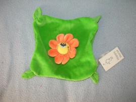 AJ-951  Gloednieuw! Happy Horse kroeldoekje bloem Happy Flower 2007