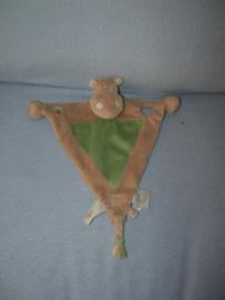 KP-1818  Noukie's kroeldoekje/speendoekje nijlpaard 2009