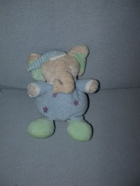 KP-1202  Geoffrey/Soft Classics olifant met pyjama - 25 cm
