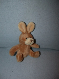 K-1166  Unitoys/Elcee konijntje - 12 cm