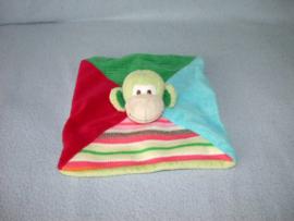 AJ-1178  Happy Horse kroeldoekje aap Monkey Mo - geen speenkoord