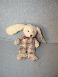K-281  Tiamo klein konijntje - 15 cm