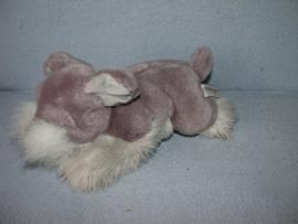 H-1066  Bijenkorf hond Schnautzer - 29 cm