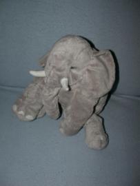 KP-1416 M  Ikea olifant, zonder kindje - 30 cm