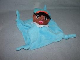 PS-987  Prenatal kroeldoekje Zwarte Piet