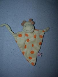 AJ-1367  Babys First kroeldoekje giraffe