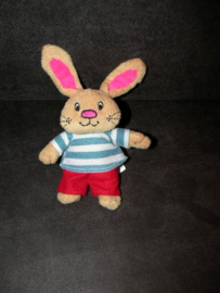 K-1312  Corentin konijntje Kleine Huppel uit kinderboeken