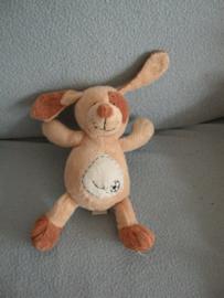 H-654  Eddy Toys hondje lichtbruin